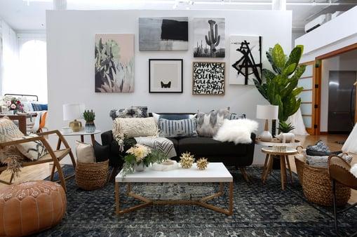 Bohemian style home