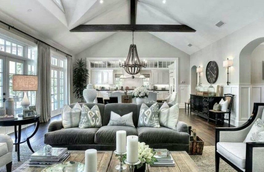 Grand and modern country style home