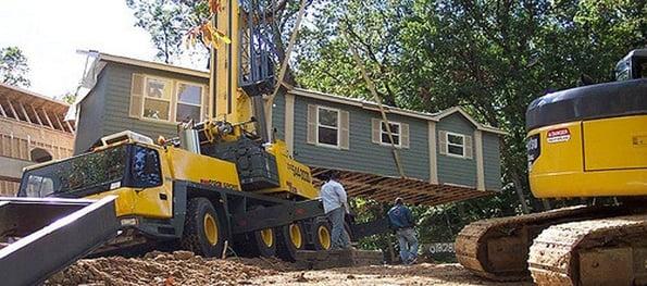 Modular home installation