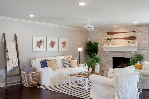Coastal style home
