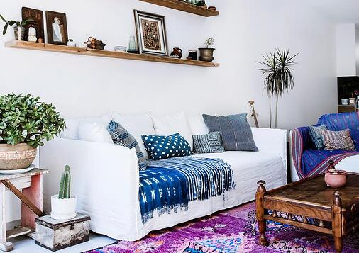 Eclectic style home